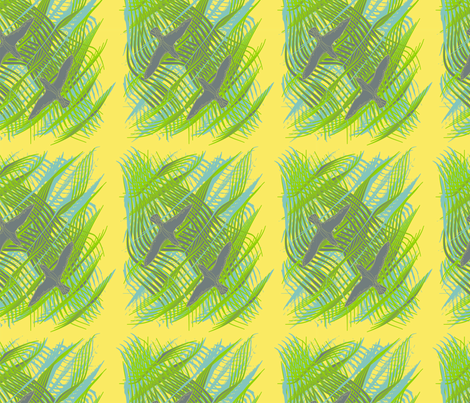 seagull fabric by back_river_designs on Spoonflower - custom fabric