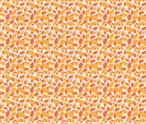Simple Leaf Design fabric by diane555 on Spoonflower - custom fabric