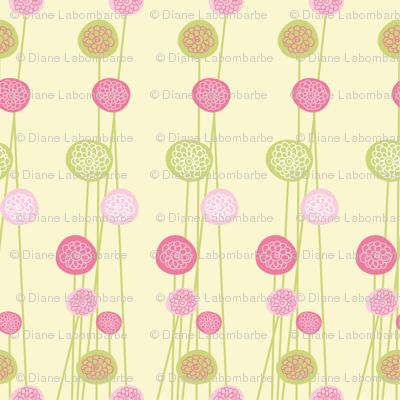 Pastel Floral Design
