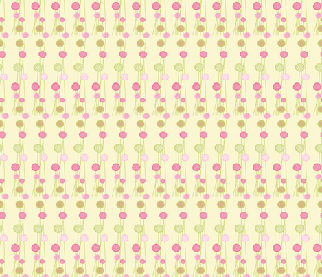 Pastel Floral Design fabric by diane555 on Spoonflower - custom fabric