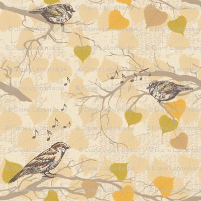 Autumn Sparrows