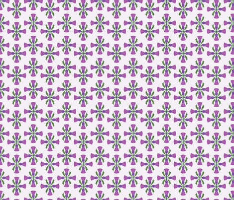 Scottish Thistles fabric by diane555 on Spoonflower - custom fabric