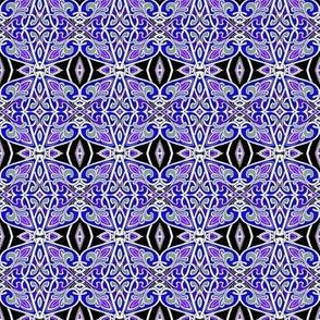 Fleur des Purple Heraldic Grape Juice Stars