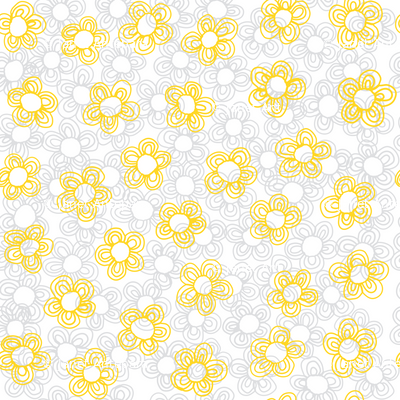 Wee Flowers, Yellow