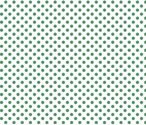 polka dots kelly green fabric by misstiina on Spoonflower - custom fabric