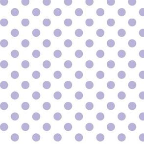 polka dots light purple