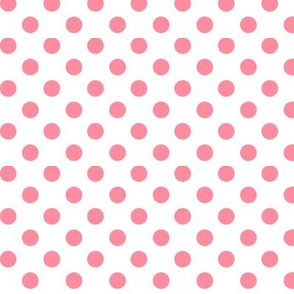 polka dots pretty pink