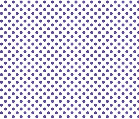polka dots purple fabric by misstiina on Spoonflower - custom fabric