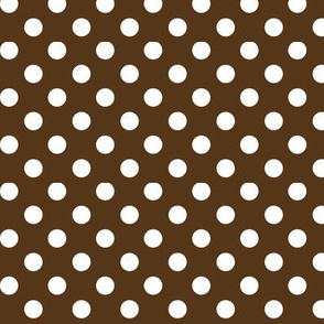 polka dots 2 brown