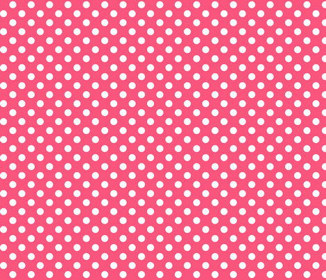 polka dots 2 hot pink fabric by misstiina on Spoonflower - custom fabric