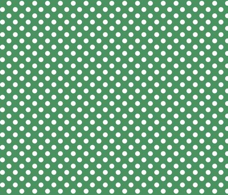 polka dots 2 kelly green fabric by misstiina on Spoonflower - custom fabric