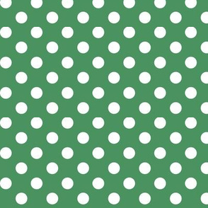 polka dots 2 kelly green