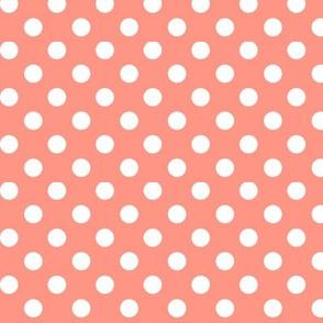 polka dots 2 peach
