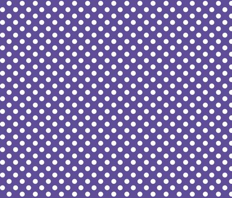 polka dots 2 purple fabric by misstiina on Spoonflower - custom fabric