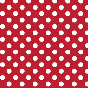 polka dots 2 red