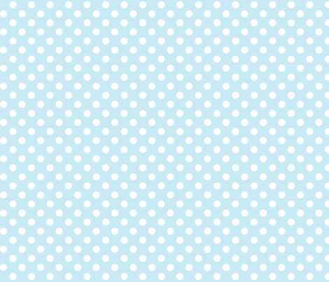 polka dots 2 ice blue fabric by misstiina on Spoonflower - custom fabric