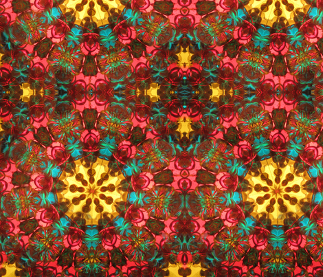 Kaleidoscope Two fabric by the_fretful_porpentine on Spoonflower - custom fabric