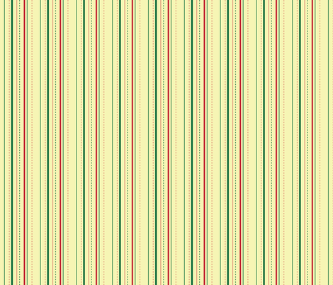 christmas-stripes fabric by hmooreart on Spoonflower - custom fabric