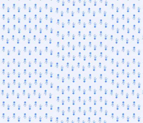 Baby Boy Blue Rattles fabric by kiniart on Spoonflower - custom fabric
