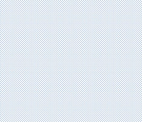 mini polka dots cornflower blue fabric by misstiina on Spoonflower - custom fabric