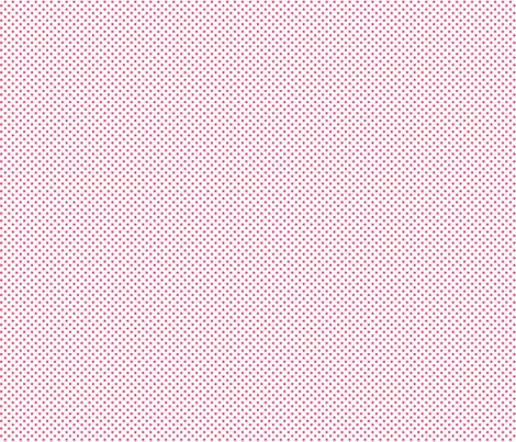 mini polka dots hot pink fabric by misstiina on Spoonflower - custom fabric