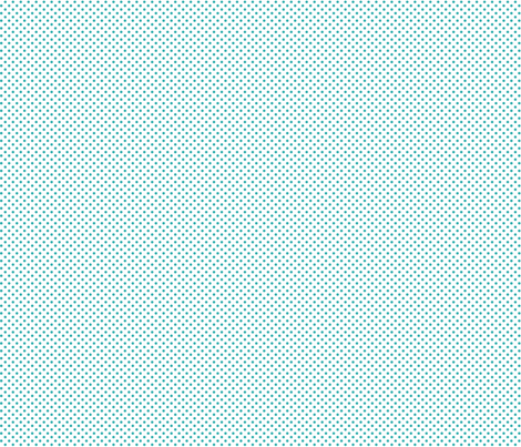 mini polka dots teal fabric by misstiina on Spoonflower - custom fabric