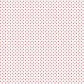 mini polka dots coral
