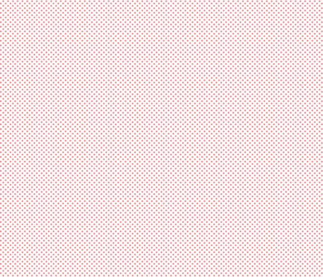 mini polka dots coral fabric by misstiina on Spoonflower - custom fabric