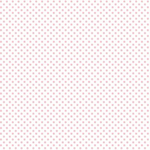 mini polka dots light pink
