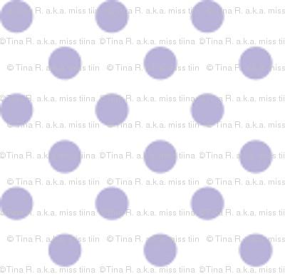 mini polka dots light purple
