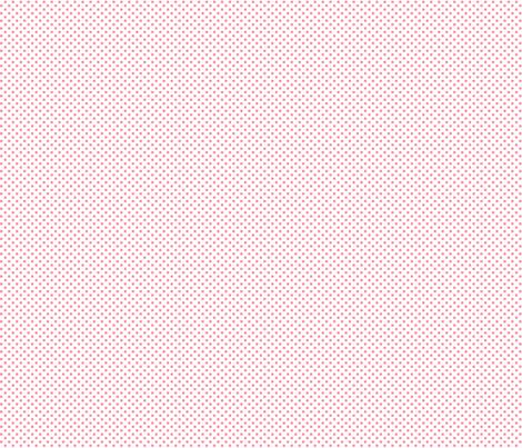 mini polka dots pretty pink fabric by misstiina on Spoonflower - custom fabric