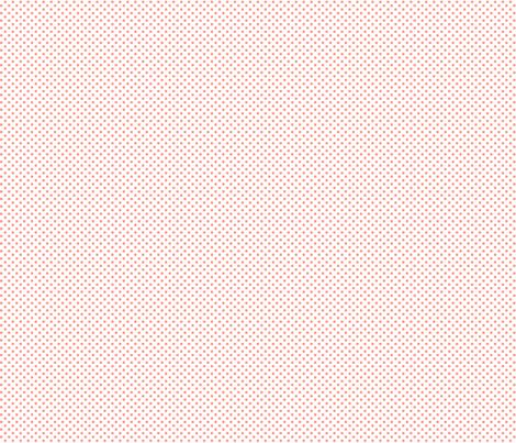 mini polka dots peach fabric by misstiina on Spoonflower - custom fabric