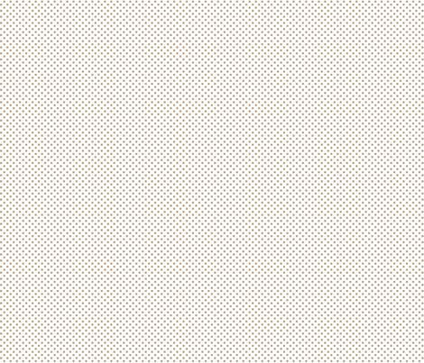 mini polka dots tan fabric by misstiina on Spoonflower - custom fabric