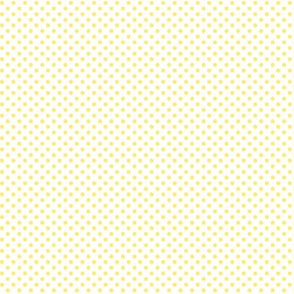 mini polka dots lemon yellow