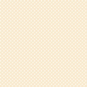 mini polka dots 2 ivory