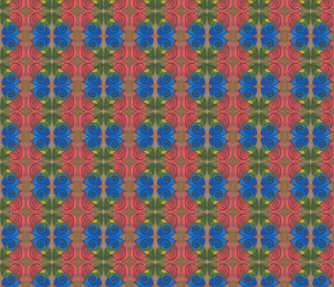 Mola1 fabric by whimsikate on Spoonflower - custom fabric