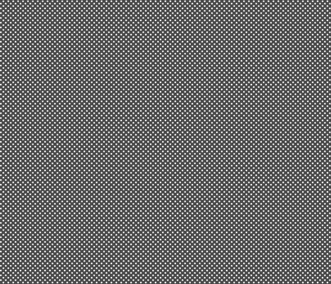 mini polka dots 2 dark grey fabric by misstiina on Spoonflower - custom fabric