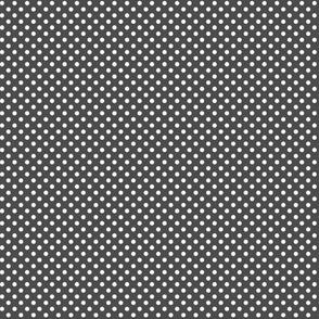 mini polka dots 2 dark grey