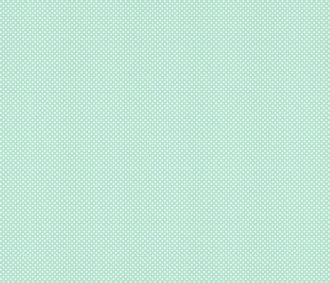 mini polka dots 2 mint green fabric by misstiina on Spoonflower - custom fabric