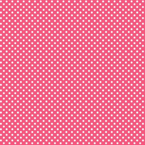 mini polka dots 2 hot pink
