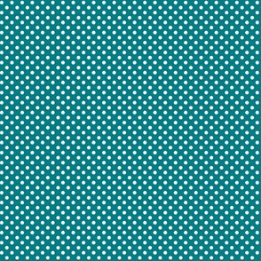 mini polka dots 2 dark teal