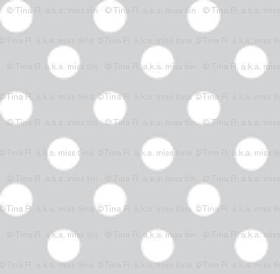 mini polka dots 2 light grey