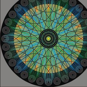 Iris Mandala