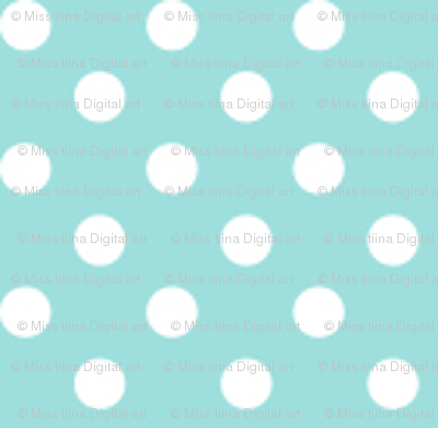mini polka dots 2 light teal