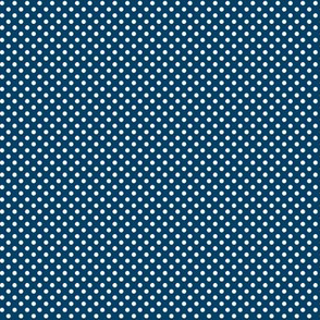 mini polka dots 2 navy blue