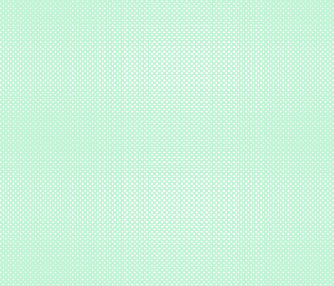 mini polka dots 2 ice mint green fabric by misstiina on Spoonflower - custom fabric