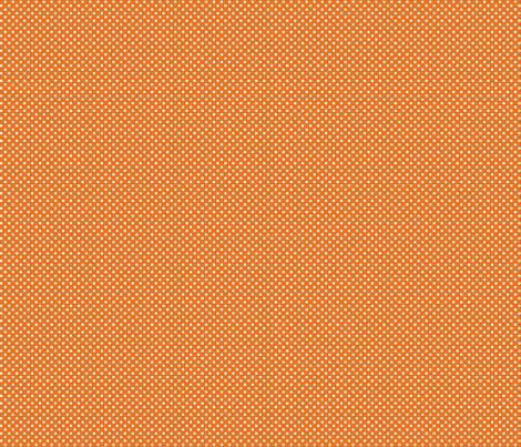 mini polka dots 2 orange fabric by misstiina on Spoonflower - custom fabric