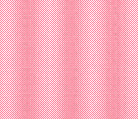 mini polka dots 2 pretty pink fabric by misstiina on Spoonflower - custom fabric