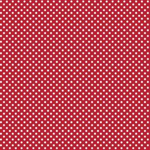mini polka dots 2 red