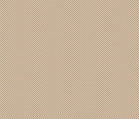 mini polka dots 2 tan fabric by misstiina on Spoonflower - custom fabric
